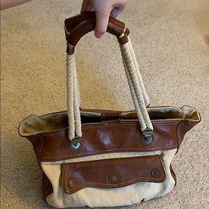 GAP Genuine Leather Hobo/Tote/Shoulder Bag